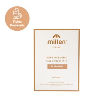 Mitten Classic Natural Face Exfoliator